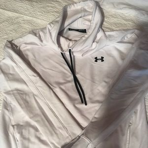 Under Armour Slouch Neck White Sweatshirt (M)